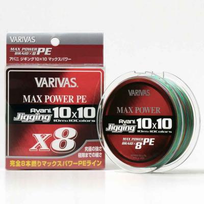 VARIVAS Avani Jigging 10X10 Max Power PE X8 400m #6 85lb PE Braid Fishing New