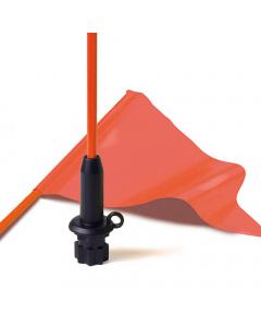 Railblaza Flag Whip  Pennant - Black Base