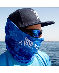 Bob Marlin Grander Blue Faceshield