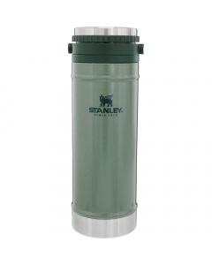 Stanley Classic French Press Travel Mug 470ml - Hammertone Green