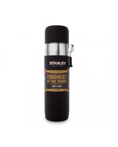 Stanley Master Vacuum Water Bottle 650ml - Foundry Black