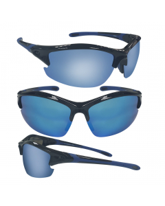Sensation Reflector Floating Polarized Sunglasses - Blue Mirror