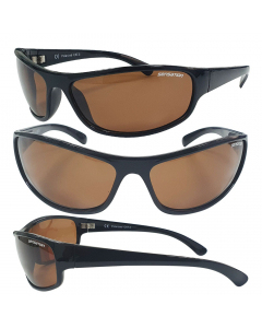 Sensation Clarity Floating Polarized Sunglasses - Brown