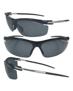 Sensation Floating Polarized Sunglasses - Jet Black Lens