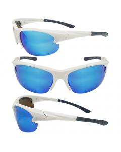 Sensation Frost Floating Polarized Sunglasses - Blue Mirror