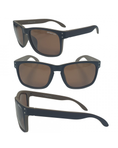 Sensation Trend Floating Polarized Sunglasses - Brown Mirror