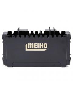 Meiho Side Pocket BM-120 Tackle Box - Black