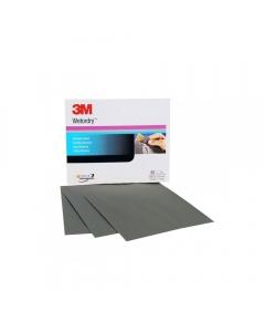 3M Wetordry Abrasive Paper Sheet 734, 230x280mm (Pack of 25)