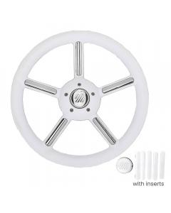 Ultraflex V56 Steering Wheel (White)