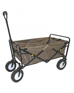 Jacana Camping Foldable Trolley, Large (Brown)