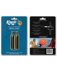 Kingii CO2 Canister Refill Cartridges (Pack of 2)