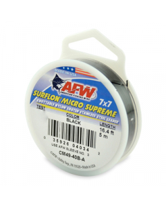 AFW Surflon Micro Supreme, Nylon Coated 7x7 Stainless Leader