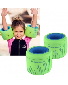 Aqua Sphere Arm Floats - Green/Blue