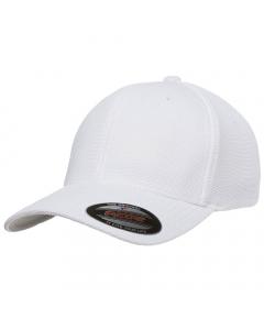Flexfit Cool & Dry Pique Mesh Cap 6577CD - White