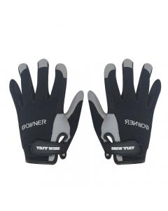 V Owner #9918 Game Gloves - Black