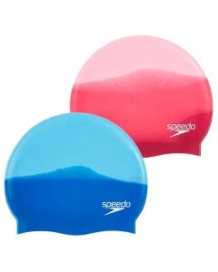 Speedo Multi Color Silicone Swim Cap