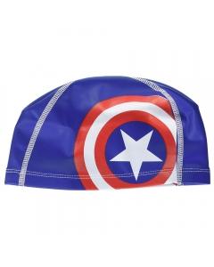 Speedo Printed Pace Swim Cap for Juniors - Blue