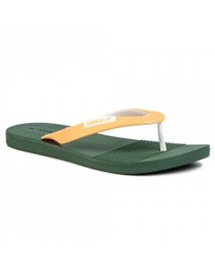 Speedo Men's Saturate AM Flip Flops - Hedgerow/Mango (Size: 8)