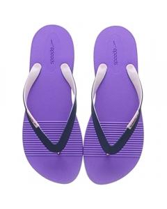 Speedo Women's Saturate AF Flip Flops - Purple/Navy