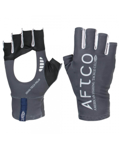 Aftco Solago Sun Protection Gloves - Charcoal
