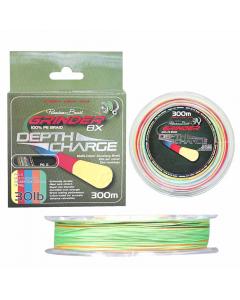 Premium Braid Grinder 8X Depth Charge - Multicolor