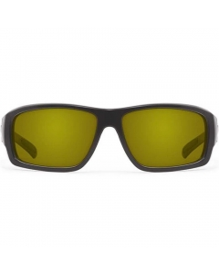 Nines Sturgeon 600986PC Polarized Sunglasses (Matte Black / High Contrast Chartreuse)