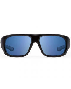 Nines St. Johns Polarized Sunglasses (Grey Drift / Grey Lens Light Blue Mirror)