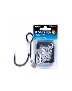 BKK Fangs 6066-5X-NP Treble Hook