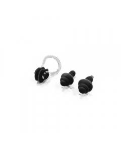 Dawson Sports Swim Silicone Soft Ear Plugs & Nose Clip W30 - Black