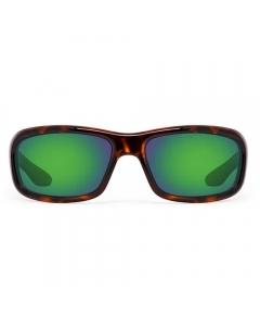 Nines Shasta SH035-P Polarized Sunglasses (Tortoise / Green Mirror Brown)