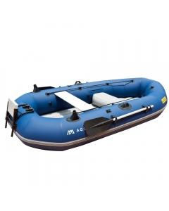 Aqua Marina BT-88890 Classic Advanced Fishing Boat with Gas Motor Mount