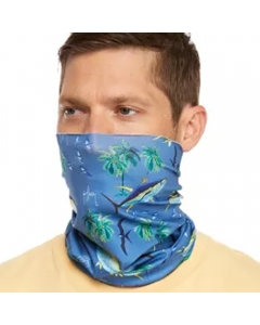 Guy Harvey GHV55500osy9230 Face and Neck Gaiter - Cool Blue