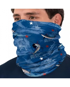 Guy Harvey GHV55500osy9237 Face and Neck Gaiter - Estate Blue