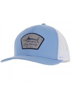 Guy Harvey GHV57001-454 Cali Vibes Mesh Trucker Cap - Powder Blue