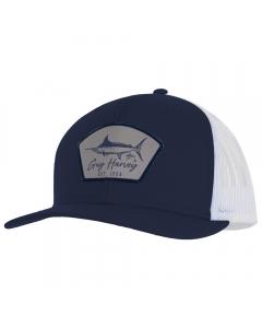 Guy Harvey GHV57001-426 Cali Vibes Mesh Trucker Cap - Estate Blue
