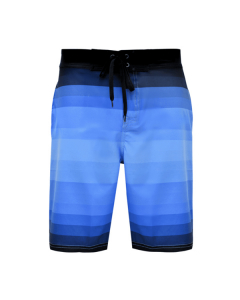 Bob Marlin Stripey Board Short - Blue
