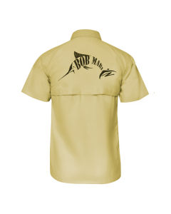 Bob Marlin Button Up Shirt – Sand