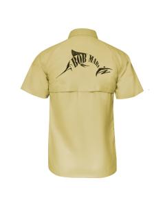 Bob Marlin Button Up Shirt – Sand