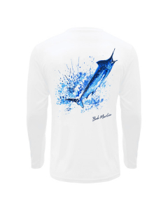 Bob Marlin Ocean Marlin Performance Shirt – White