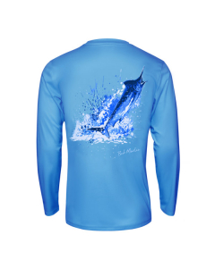 Bob Marlin Ocean Marlin Performance Shirt – Blue