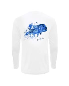 Bob Marlin Ocean GT Performance Shirt – White