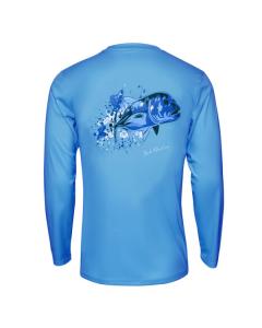 Bob Marlin Ocean GT Performance Shirt – Blue