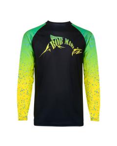 Bob Marlin Bob Mahi Performance Shirt – Black