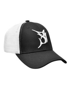 Bob Marlin Baseball 3D Logo Cap - Black