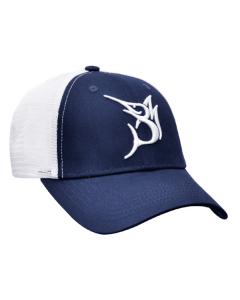 Bob Marlin Baseball 3D Logo Cap - Blue