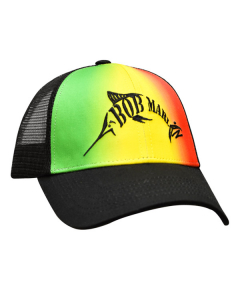 Bob Marlin Baseball 3D Logo Cap - Rasta