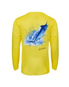 Bob Marlin Ocean Marlin Performance Shirt – Yellow