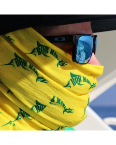 Bob Marlin Logo Faceshield - Yellow