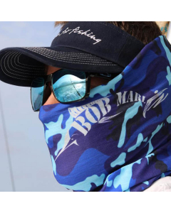 Bob Marlin Camo Faceshield - Blue