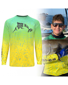 Bob Marlin Bob Mahi Performance Shirt for Youth/Kids - Mahi